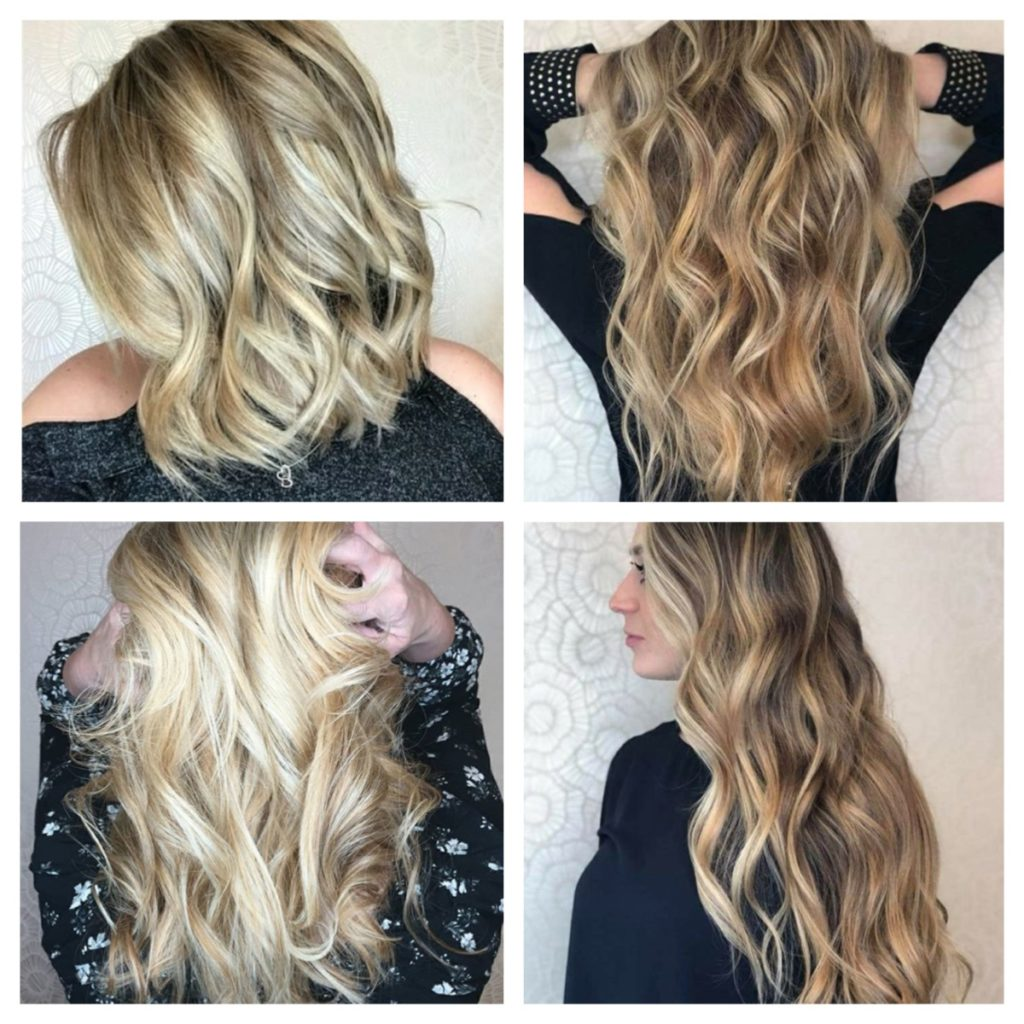 How to make balayage highlights at home